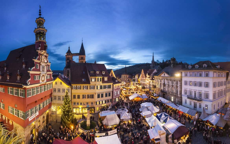 Mittelalterlicher Glanz auf dem Weihnachtsmarkt in Esslingen