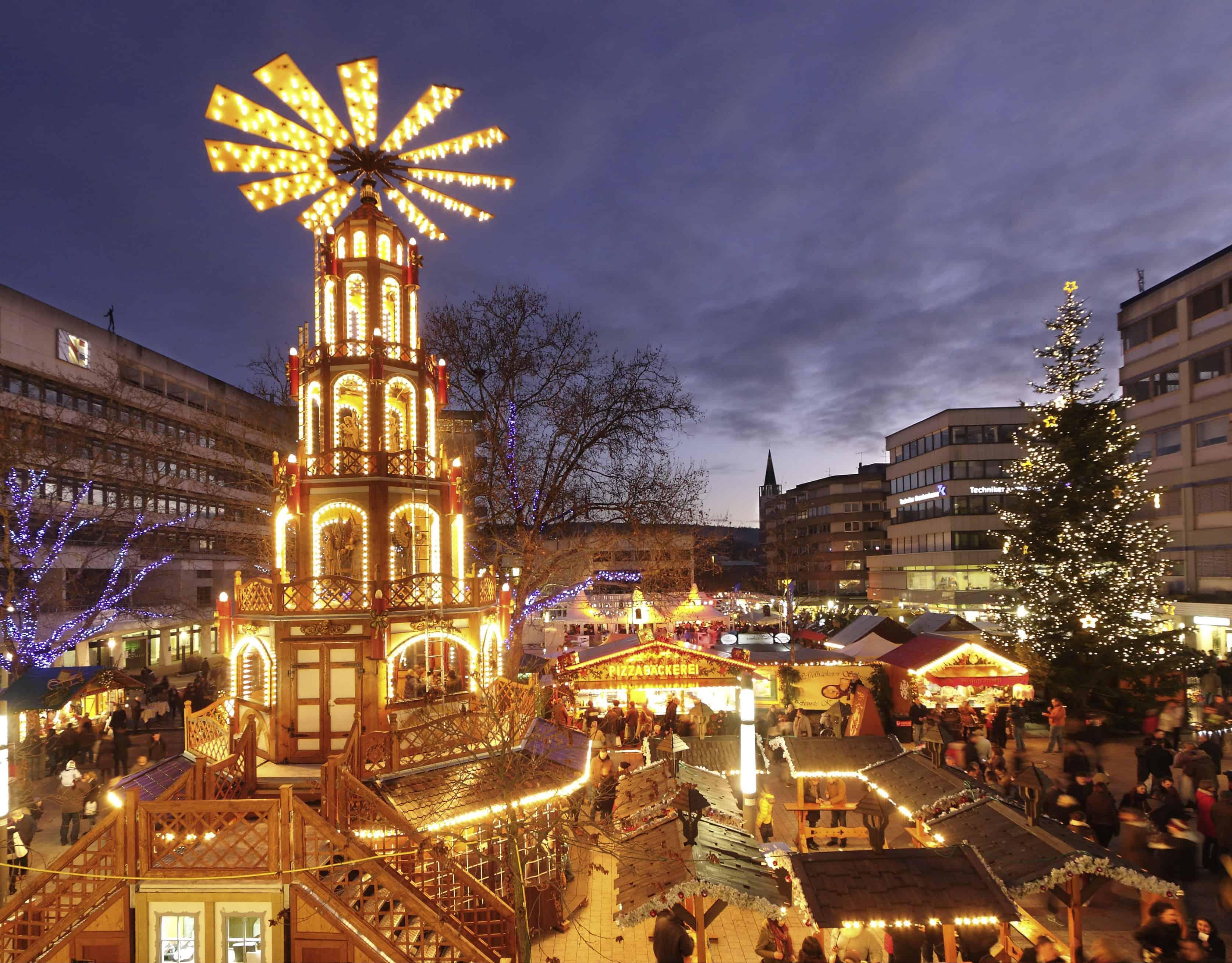 Weihnachtsmarkt in Pforzheim