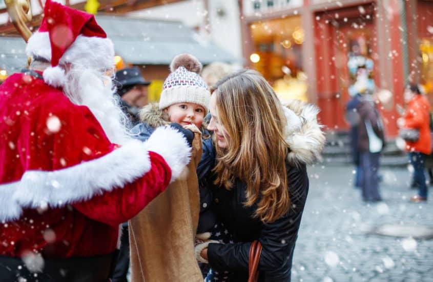 Nikolaus mit Kind