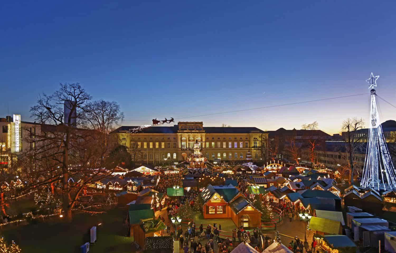 Karlsruhe Weihnachtsmarkt.Karlsruhe Weihnachtsmarkt Magazin
