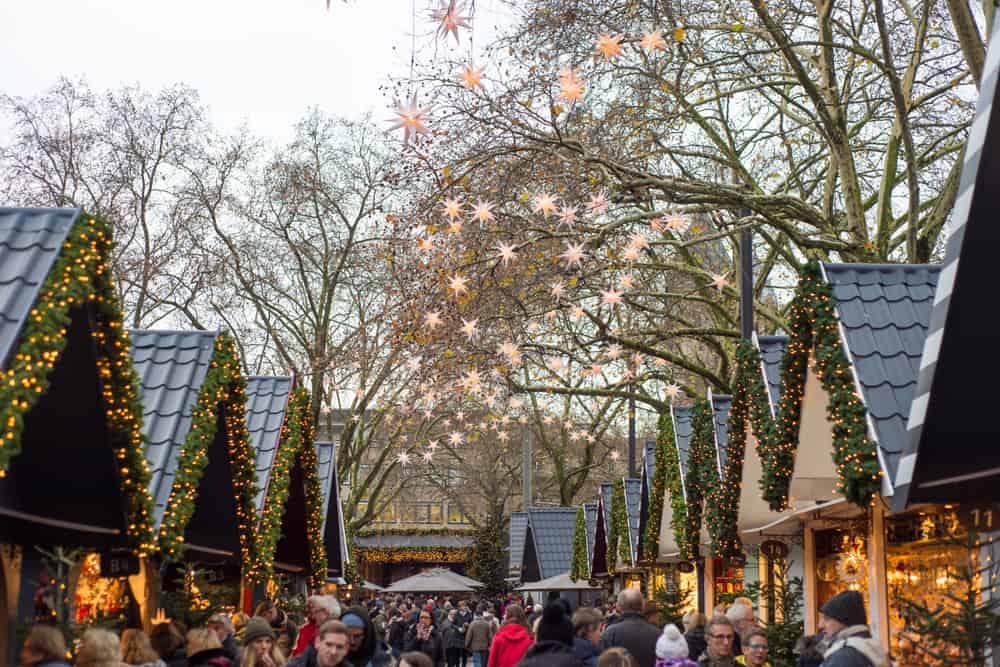 Weihnachtsmarkt Neumarkt in Köln, Markt der Engel