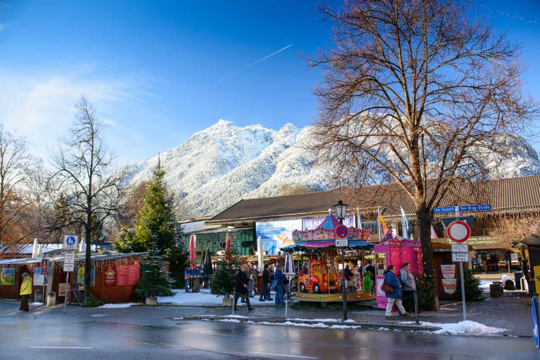 Isylischer Weihnachtsmarkt im Schnee