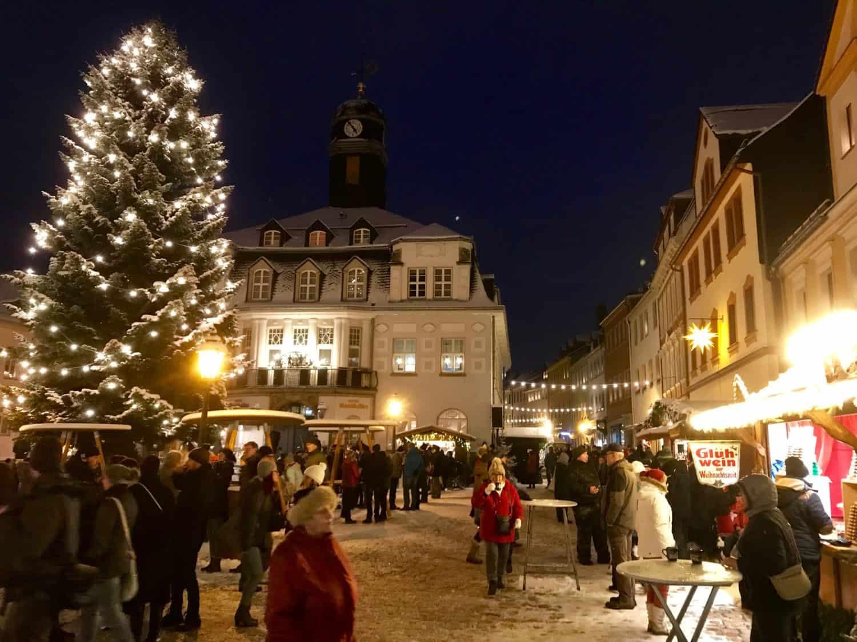 Weihnachtsmarkt Schwarzenberg.Schwarzenberg Weihnachtsmarkt Magazin
