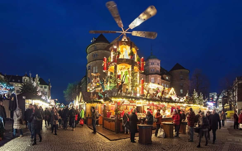 Stuttgart Weihnachtsmarkt.Stuttgart Weihnachtsmarkt Magazin