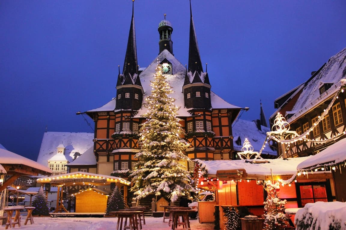 Wernigerode Weihnachtsmarkt.Wernigerode Weihnachtsmarkt Magazin