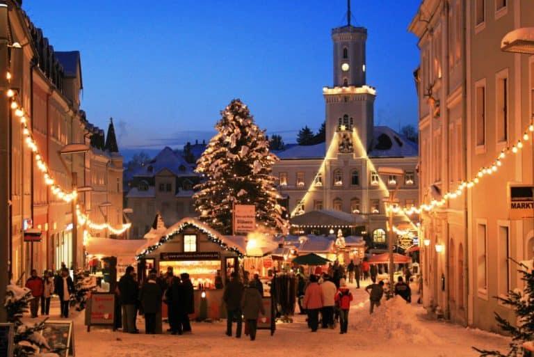 Weihnachtsmarkt in Schneeberg