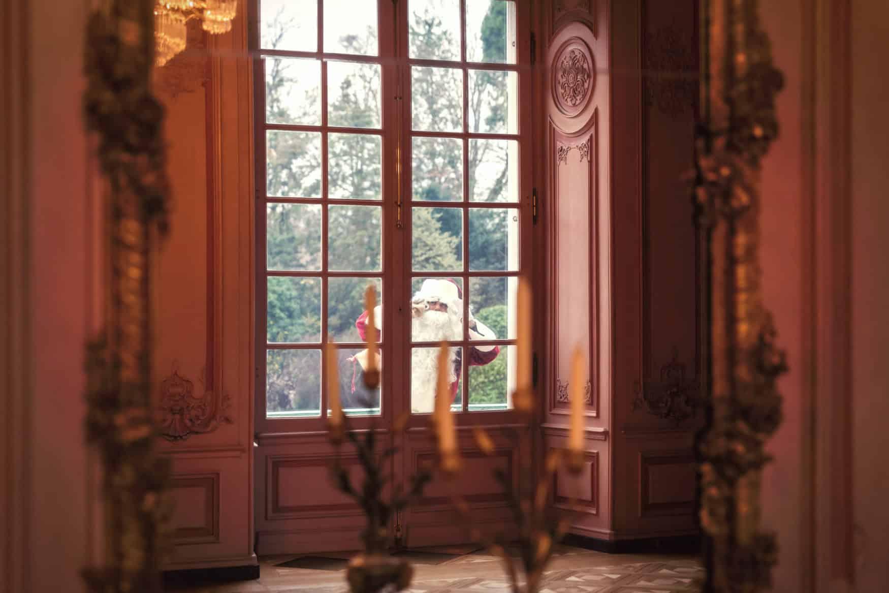 Aussicht Fenster Schloss Benrath