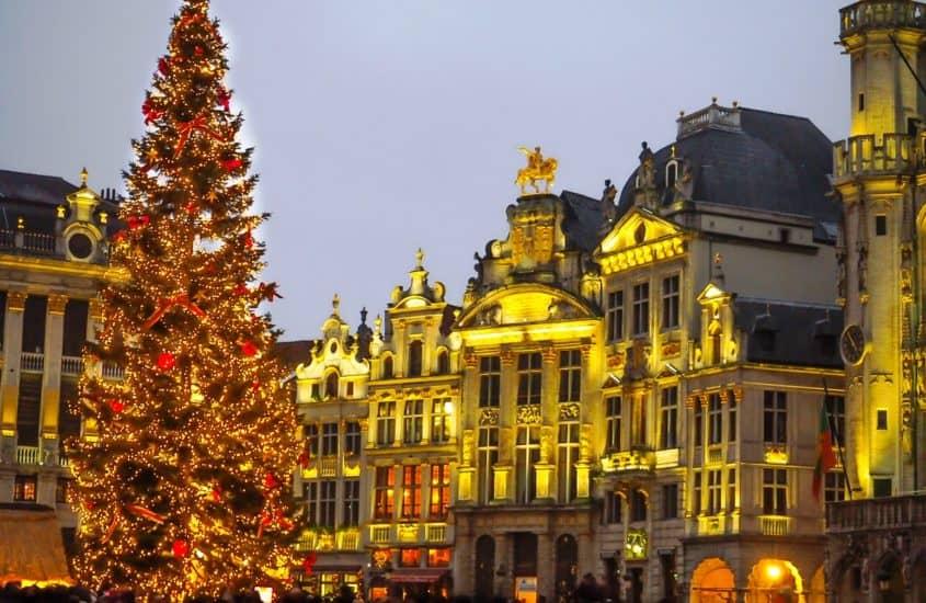 Weihnachtsmarkt Brüssel, Christbaum