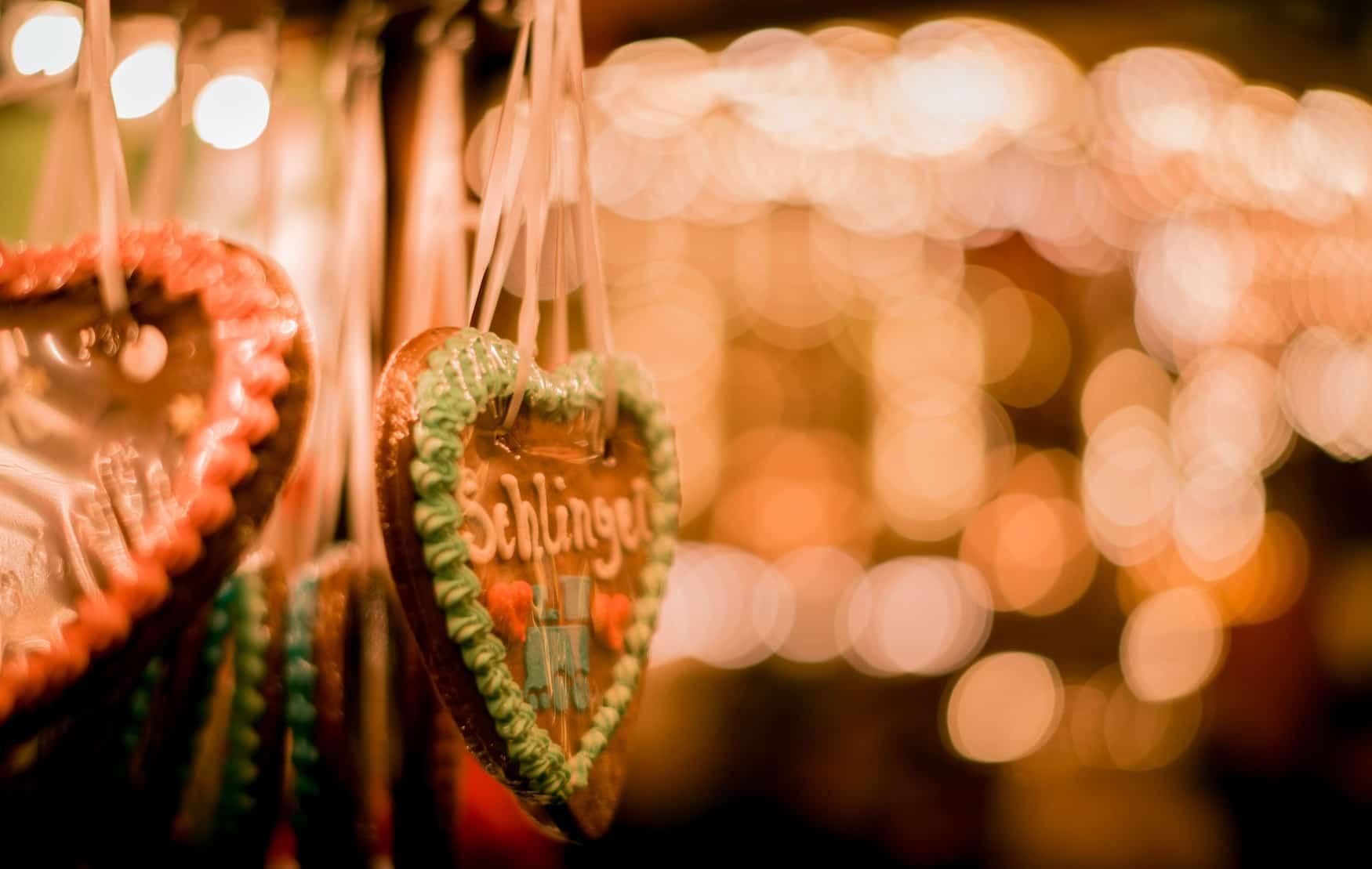 Lebkuchenherz Weihnachtsmarkt