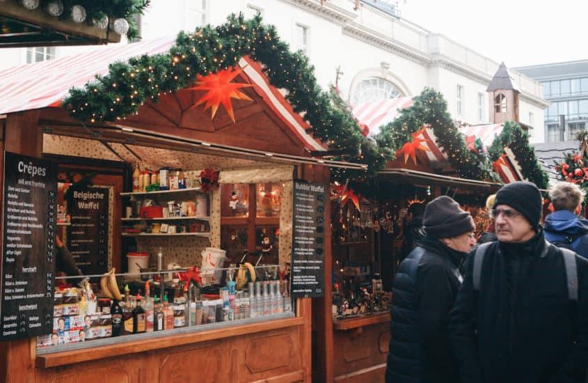Weihnachtsmarkthäuschen