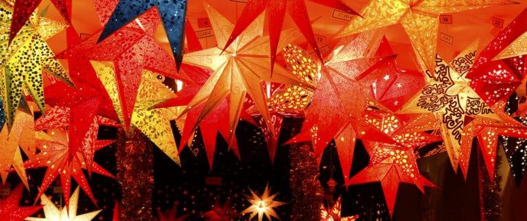 Bunte Sterne, Weihnachtsstimmung