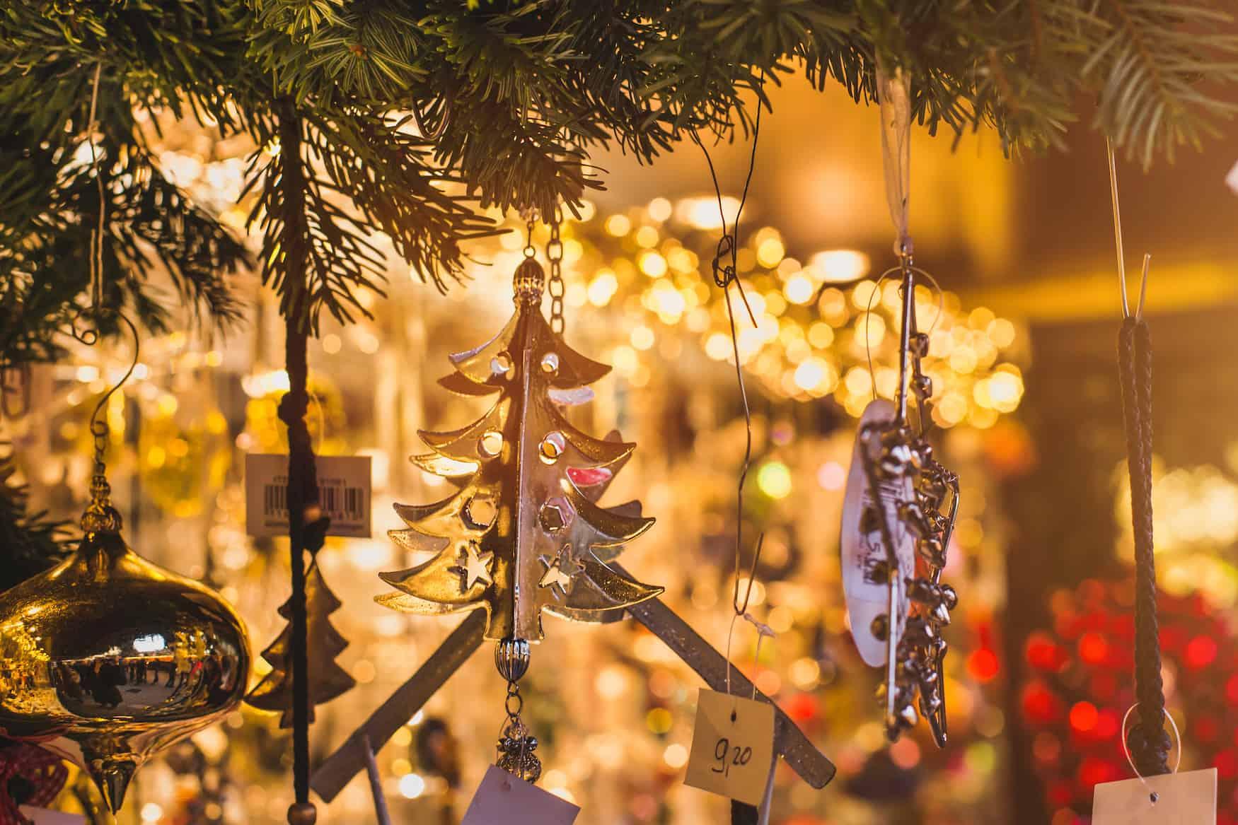 Christbaumanhänger, Weihnachtsmarkt