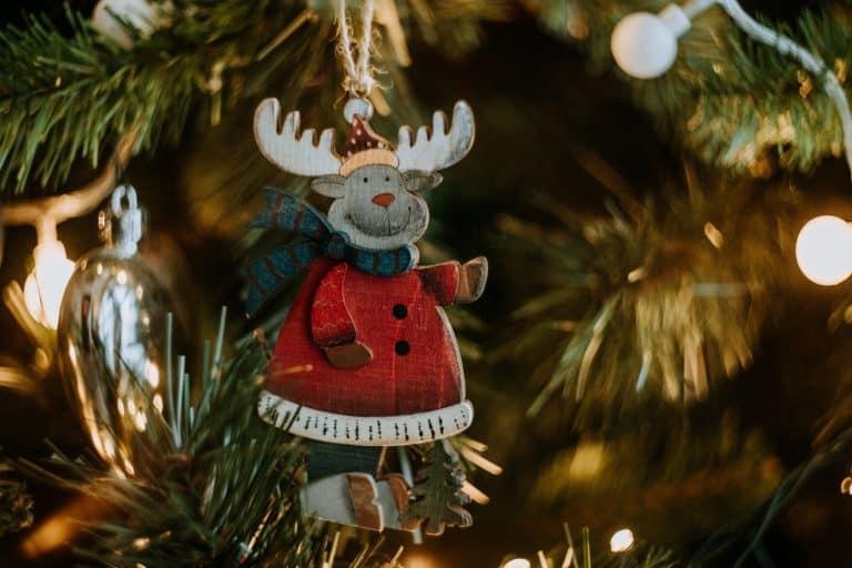 Weihnachtsbaumanhänger Elch
