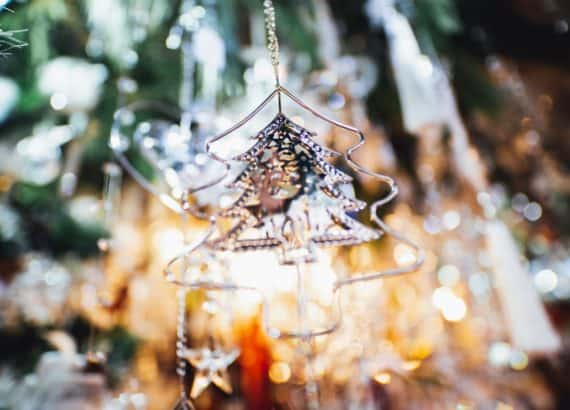 Christbaumanhänger, Licht, Weihnachtsmarkt