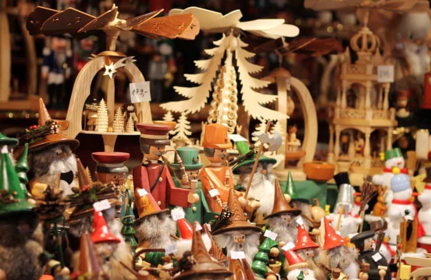 Weihnachstbaumanhänger aus Holz