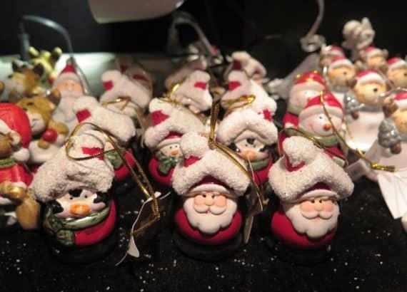 Deko Weihnachtsmänner