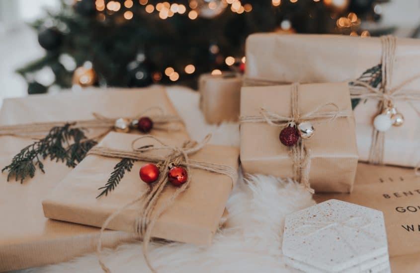 Geschenke, weihnachten, Winter