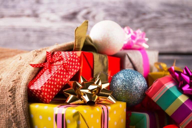 Geschenke festlich verpackt