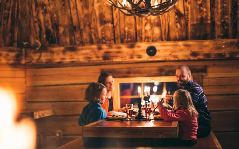 Restaurant Kotahovi in Santa Claus Village in Rovaniemi Lappland Finnland
